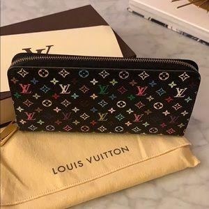 Louis Vuitton Zippy Wallet in Multicolor